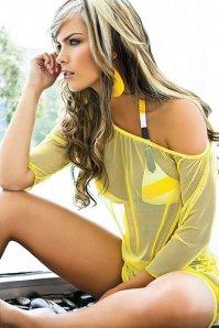 Melissa Giraldo, Modelo Colombiana